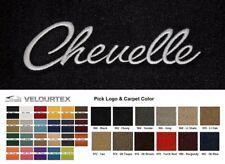 Lloyd Mats Chevrolet Chevelle Custom Velourtex Front Floor Mats (1968-1969)
