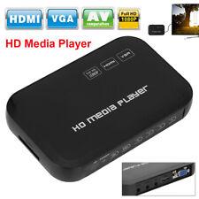 Mini Full HD 1080P Multi Video Media Player TV BOX HDMI VGA USB YPbPr H.264