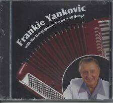 """FRANKIE YANKOVIC """"With The Great Johnny Pecon""""  20 Songs  NEW POLKA CD"""