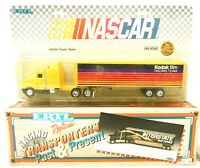 2 Vintage Ertl NASCAR Racing Team Transporters Kodak Film  Interstate Batteries
