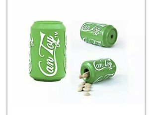 SodaPup Original Can Durable Chew Toy/Treat Dispenser Large Green