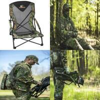 Mossy Oak Low Profile Turkey Hunting Gobbler Chair, Mossy Oak Obsession NWTF