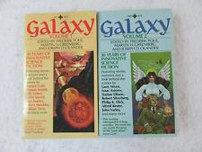 Lot of 2 GALAXY 30 Years of Innovative Science Fiction Volumes 1 & 2 Playboy