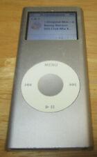 Apple IPOD Nano A1199 4GB 2 Gen 2nd Generation funzionante Grigio Silver Argento