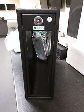 TOP-TEC 318Z Lockable SFF Computer Security Enclosure Cage Steel Black Finish