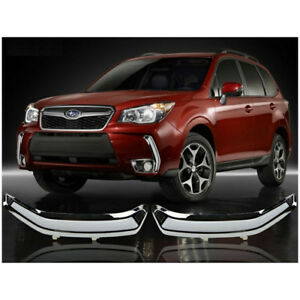 LED Daytime Running Lights For Subaru Forester 2013-18 Yellow Turn Signals Lsmp