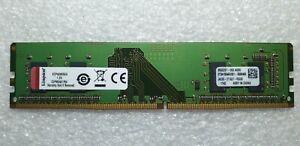Kingston KCP424NS6/4 4GB 1x4GB PC4-19200 2400MHz UDIMM Memory Ram DDR4 Pc