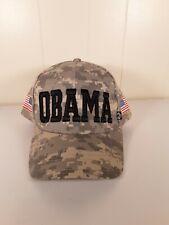 Camo Obama hat strap back