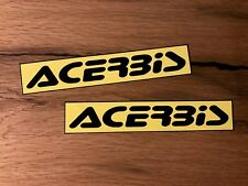 2x adesivi ACERBIS MOTOCROSS DIRT BIKE CROSS PIT BMX OFFROAD vollcross #314