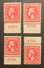 TDStamps: US Stamps Scott#528B (4) Mint H OG