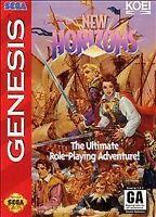 New Horizons - Sega Genesis, (SEGA Genesis)