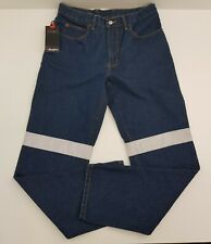 King Gee Reflective Work Jeans NEW - Size 87R