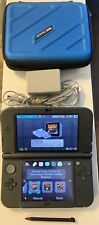 """""""New"""" Nintendo 3DS XL Black Console COMPLETE With Hard Case, Stylus 3 DK Games!"""