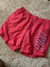 Nike Red Shorts Size Medium