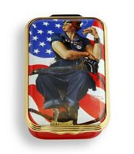 Halcyon Days- Norman Rockwell Rosie The Riveter -Le Box