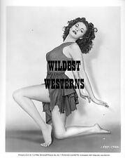 YVONNE DE CARLO sexy dancer RARE short dress HOT LEGS Busty BAREFOOT Toes