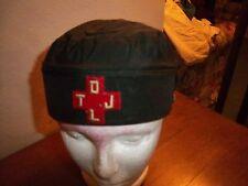Vintage mason Masonic freemasonry scottish rite HAT red Cross D L T J occult