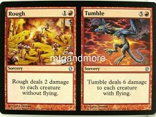 Magic Commander 2013 - 4x Rough // Tumble