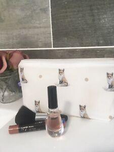 Fox Makeup Bag Cosmetics Bag Storage Bag Fox Gift Idea