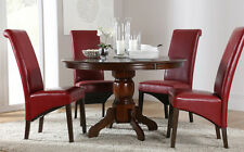 Solid Wood Up to 4 Unbranded Round Kitchen & Dining Tables