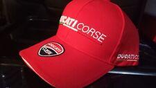 RED DUCATI CORSE GP MOTO RACING CAP GRAND PRIX  MOTORCYCLE MONSTER EVO PANTAH SS