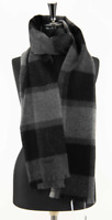 COACH Large Checked Scarf Orig. $158 NWT