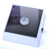 Square Portable 4 LED Lights Stand Base Display For Crystal Jewelry cocktail Gem