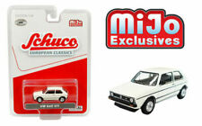 SCHUCO MiJo 1/64 WHITE VOLKSWAGEN GOLF GTI VW EUROPEAN CLASSICS Model #4600