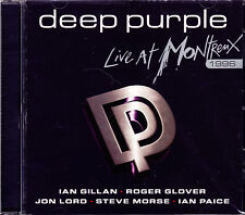 Deep PURPLE Live at Montreux 1996 + 2 bonus tracks CD NUOVO