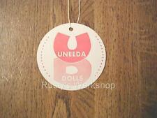 1950's Uneeda doll Wrist hang Tag (Reproduction)