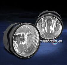 2007-2015 FORD EXPEDITION SUV/2008-2011 RANGER BUMPER FOG LIGHTS LAMP CHROME NEW