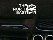 THE NORTH EAST  FLAG Car Decal Sticker JDM VW DUB VAG Euro Race Drift Funny Surf