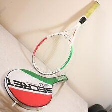 "Yamaha Secret EX Tennis Racquet 4-1/2"" Grip Carbon Graphite Yellow Grip w/ Case"