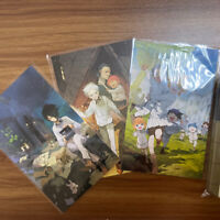The Promised Neverland exhibition Postcard Set Illustration Emma Ray Norman New
