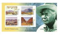 Australian Decimal Stamps: 2002 Birth Centenary-Albert Namatjira Mini Sheet MNH