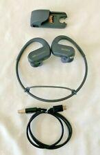 Sony Walkman NW-WS413 Black 4GB Sports Wearable MP3  W /cradle water/dust proof