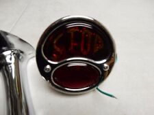 TAIL LIGHT  AND BRACKET SET  1 PAIR FORD 1928 1929 1930 1931 WITH S.T.O.P GLASS