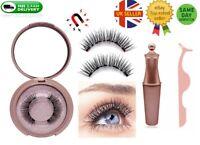 Magnetic liquid Eyeliner And Magnetic False 3D Eyelashes Easy to Wear Lashes Set