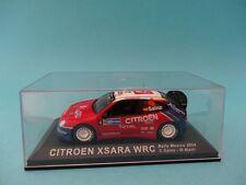 CITROEN XSARA WRC #4 - CARLOS SAINZ - RALLY MEXICO 2004 - 1/43 NEW IXO ALTAYA