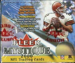 1x 2000 Fleer Mystique sealed unopened football card pack TOM BRADY RC!