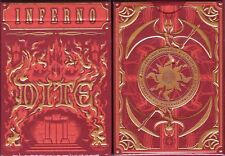 Inferno Dite Playing Cards Poker Size Deck LPCC Custom Limited Edition Sealed