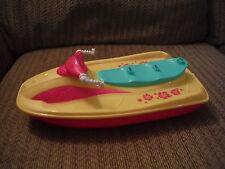 Barbie Mattel Wave Runner Jet Ski Plastic - Fits 3 Barbies!