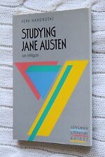 Studying Jane Austen by Ian Milligan (Paperback, 1988), New, free shipping