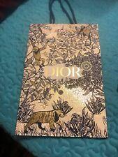 Dior Paper Bag Gold 15x9.5