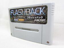 Super Famicom FLASHBACK Flash Back Nintendo Japan Cartridge Only sfc