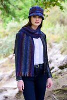 Irish Skellig Scarf Cashmere Merino Wool By Mucros Weavers v133