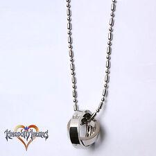 Cosplay Kingdom Hearts collana 2 corona con rotanti anelli pendenti