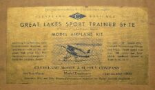 1930's Cleveland Great Lakes Sport Trainer ( GOLD LABEL )  Kit SF-1E ( SF-1G)