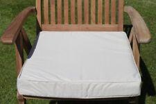 Garden Furniture Cushion- Armchair Seat Pad for Large Garden Chair in Beige