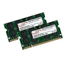 2x 4gb 8gb ddr2 800 MHz Sony VAIO serie Sr-vgn-sr41m/p de memoria RAM SO-DIMM